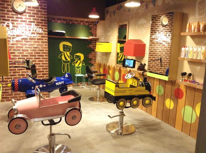 Kids' saloon! Kidsplay Singapore Kids Having Fun Saloon Time
