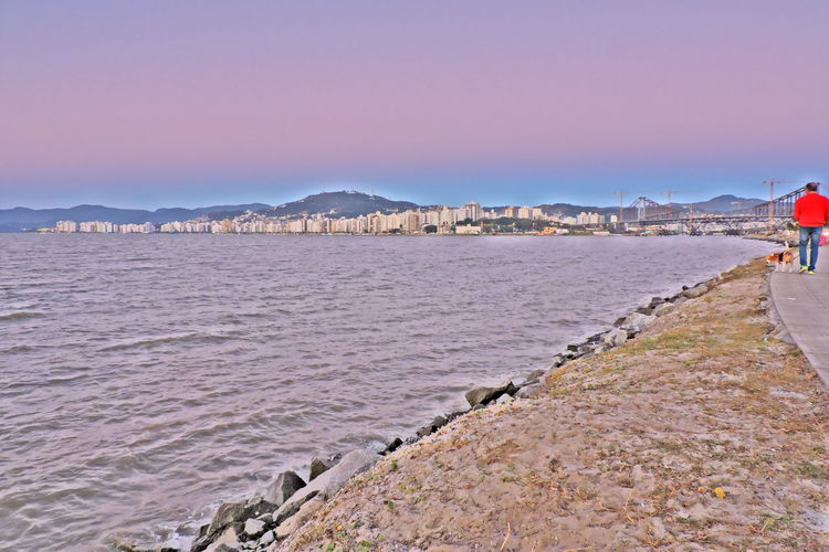 Beira Mar Continental EyeEm Hello World ✌ M Nature Blue Sky Florianópolis Brasil Nature_collection Pinture