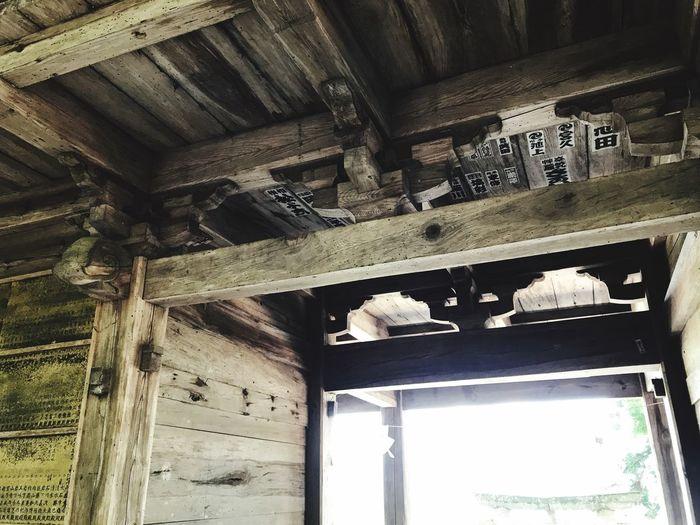 Indoors  Wood -