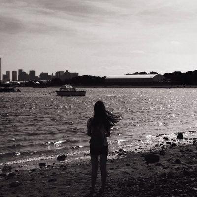Black & White Sea VSCO
