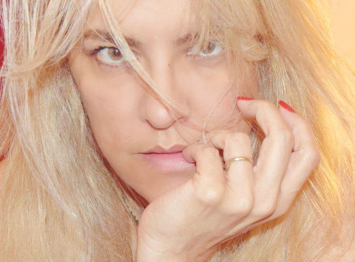 Beautiful Woman Beauty Blond Hair Close-up Human Lips One Woman Only Portrait Women