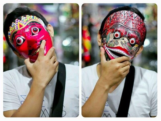 Puppet mask Etnic Mask... indonesia Wonderful Yogyakarta