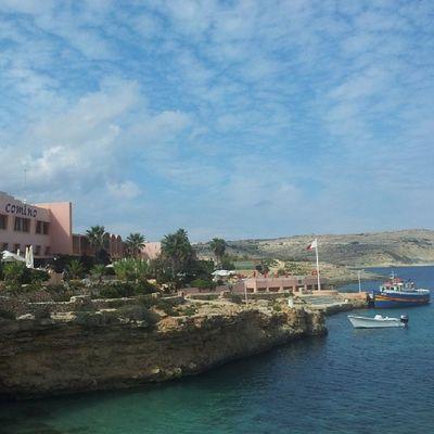 Comino Visitcomino Cominoboat Sky cloud clouds bluesky bluewater