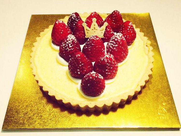 Hand Made Homebaker Strawberry Tart yammy:)