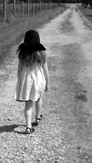 Rear View Full Length Real People One Person Outdoors Day People Young Adult Adult Younglife EyeEmBestPics EyeEm Best Shots Eye4photography  Eyeemmarket Country Life Blackandwhite Blackandwhite Photography
