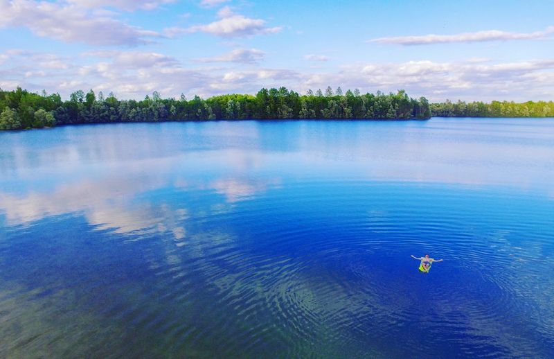 Tranquility - Summer 2017 📷 Water Nature Blue Outdoors Lake Cloud - Sky Nautical Vessel Day Landscape Tree No People Summer Scenics Beauty In Nature Sky EyeEmNewHere Photography Photooftheday Love Confidence  EyeEm Best Shots EyeEm Nature Lover EyeEm Selects Relaxing Reflection Sommergefühle
