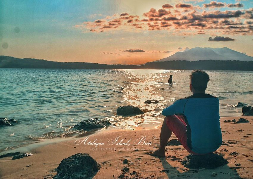 #atulayanisland #bicol #summer2016 #sunset #partido #silentthinking #philippines #asiabeach