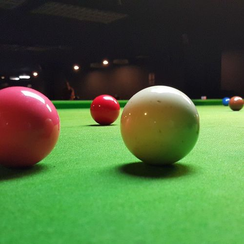 Had a good time playing Snooker Ampangpark Malaysia Kualalumpur onehitwonder