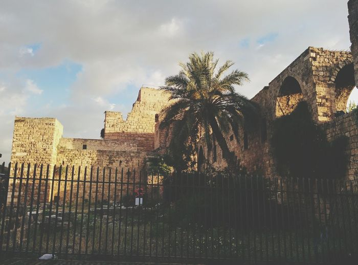 EyeEm Selects The Crusader Castle Byblos Castle And Ancient Byblos In The Background Architecture