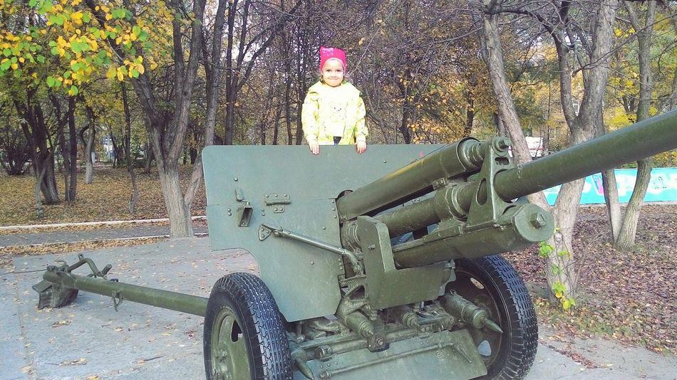 дочка у пушка , факел