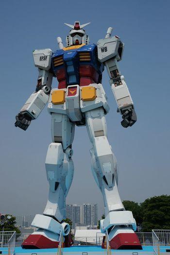 MOBILE SUIT GUNDAM 2009/06/27 Gundam Cityscapes Snapshot Blue Sky Enjoying Life Urban Landscape