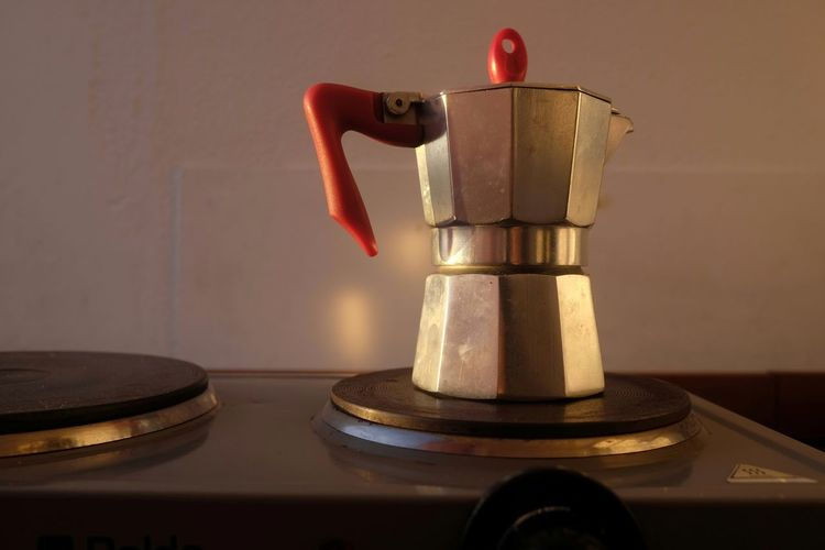 Home Close-up Coffee - Drink Consummate Day Espresso Maker Food And Drink Indoors  Italian Kitchen Mokapot No People Old Preparation  Preparation  Stove