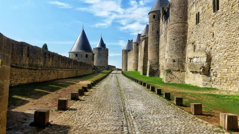 Travel Destinations Day Sky Outdoors No People History Architecture Carcassone, France Castle The Week On EyeEm EyeEmNewHere