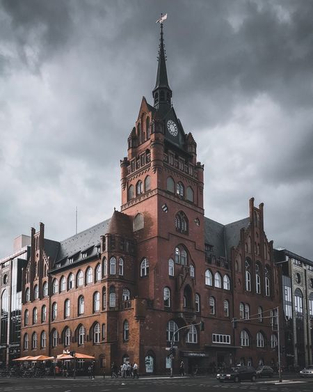 Building Exterior Architecture Built Structure Sky Building Cloud - Sky Low Angle View The Past Travel Destinations History City Tower Nature No People Travel Day Tourism Outdoors Spire  Gothic Style