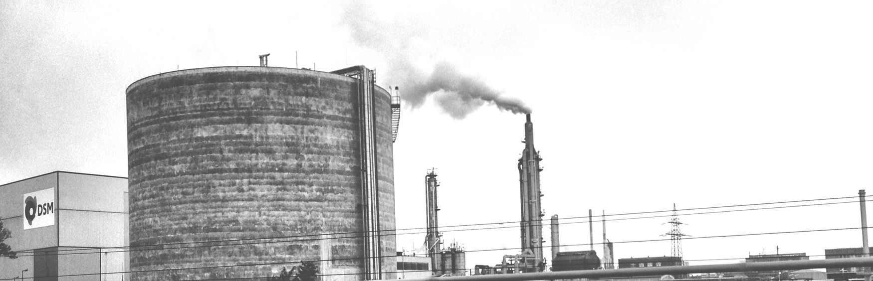 Industrieromantik Streetphotography Blackandwhite Chimney