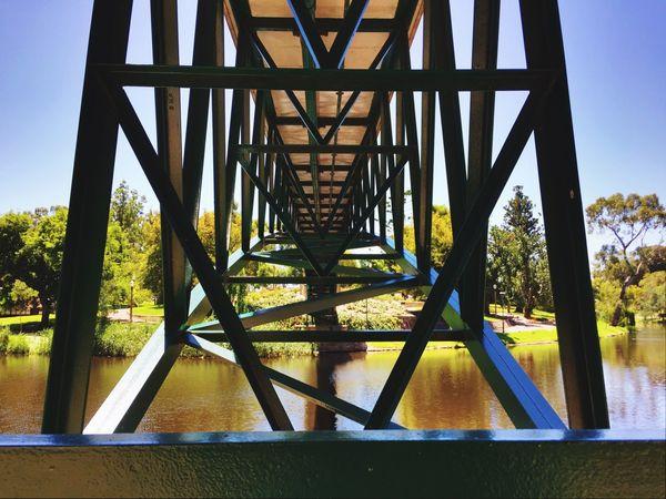 Bridge River Torrens River Adelaide, South Australia Footbridge Scenic