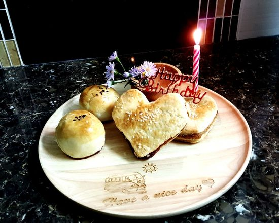 Plates Plates On A Table Food And Drink Close-up Cake Time Biscuit Time HappyBirthday Happy Moments Candles Candle Light Cakes, Sweets, Love It Freshness Every Picture Tells A Story Objects