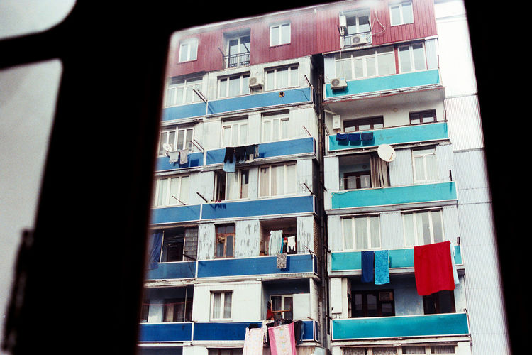 The Architect - 2016 EyeEm Awards Soviet Architecture Soviet Era Soviet Blocks Soviet Buildings Batumi Georgia Film Photography Nikonf3 Agfa Vista200 Colour Film