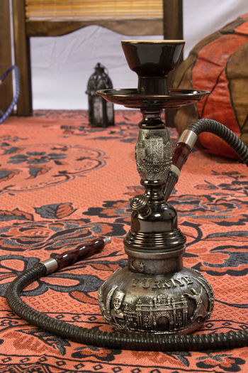 Hookah On Carpet At Home