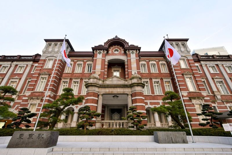 東京駅 1 Building Exterior Architecture Built Structure Low Angle View No People Station Tokyostation Japan Tokyo