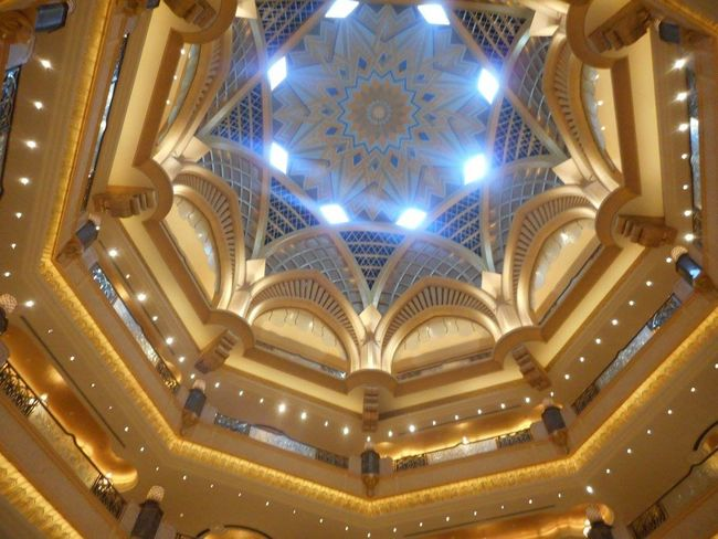 Abudhabilife Architecture Built Structure Day Emirates Palace EyeEmNewHere Indoors  Luxurious Royal Life