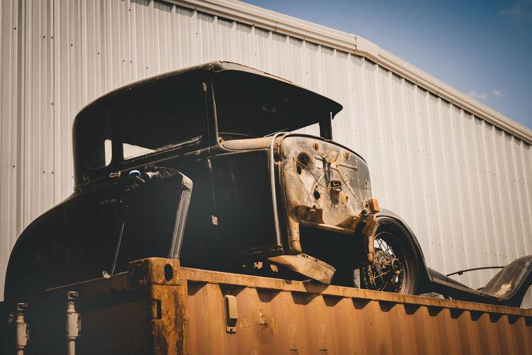 Old rusty beauty