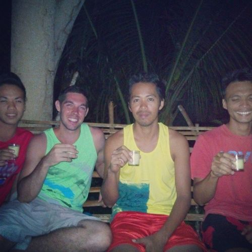 Second night with the Buntod Elites plus Jake BuntodElites Tanduay Rhum Piñacolada tanduaywhite