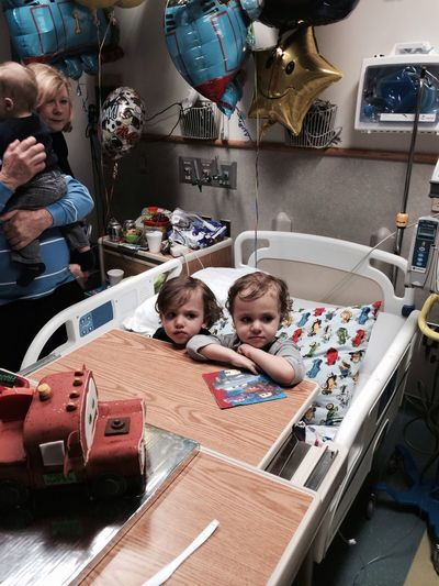 3rd birthday of the Saile Twins. Little John(on the right) was hospitalized on Sunday. Found out he has leukemia. Please send your prayers. Thank you my friends! SaileTwinsStreamzoofamily StreamzooVille StreamzooRefugee