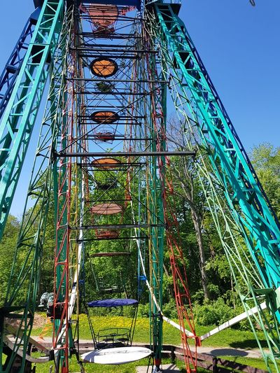 Old Ferris Wheel Excitement Colorful Dayout Countryside Sigulda Ferris Wheel Amusement Park Ride Arts Culture And Entertainment Carousel Amusement Park Rollercoaster Tree Sky Big Wheel