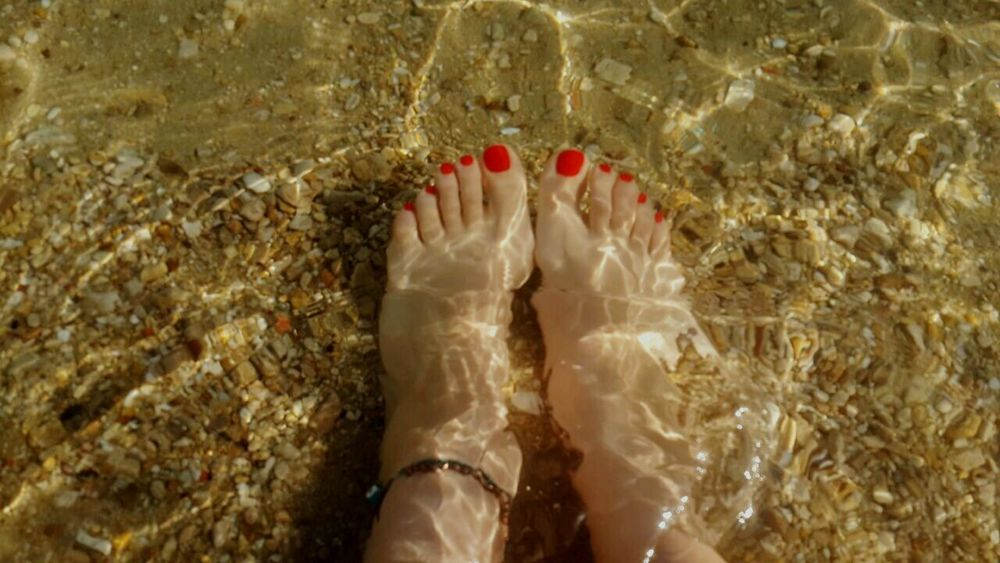 Beachphotography Beach Beachlife Sand Nailpolish Anklet Ein El Sokhna Egypt