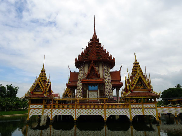 Architecture ASIA Grand Luxury Palace Religion Temple - Building Thai Land