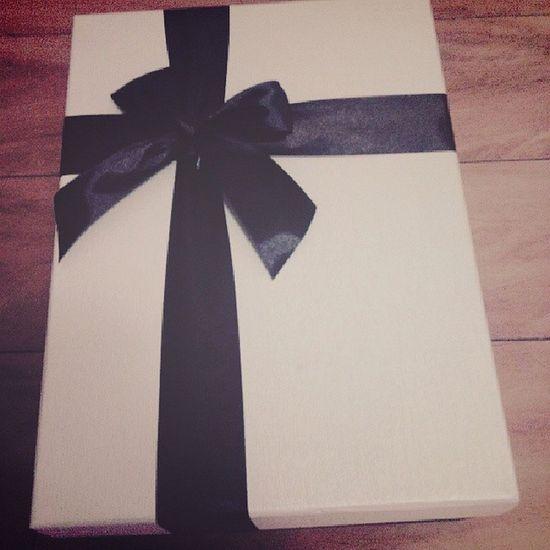 礼物 生日 @feifeiflying_ baby thanks~@feifeiflying_