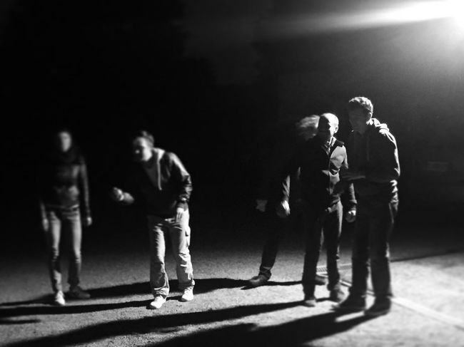 Petanque Playing Games People People Playing Nightphotography Night Photography Friends Petanque Time Petanque Blackandwhite Photography Blackandwhite