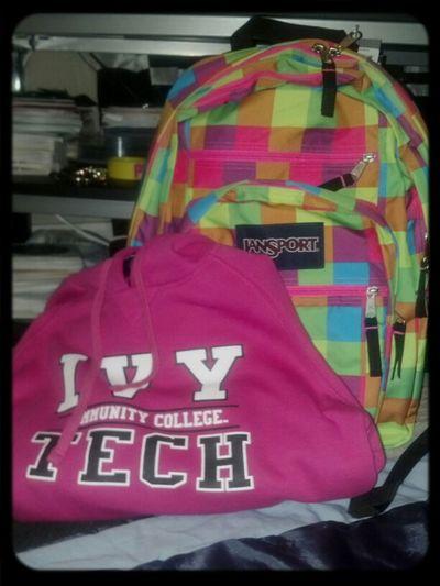 New Backpack & Hoodie
