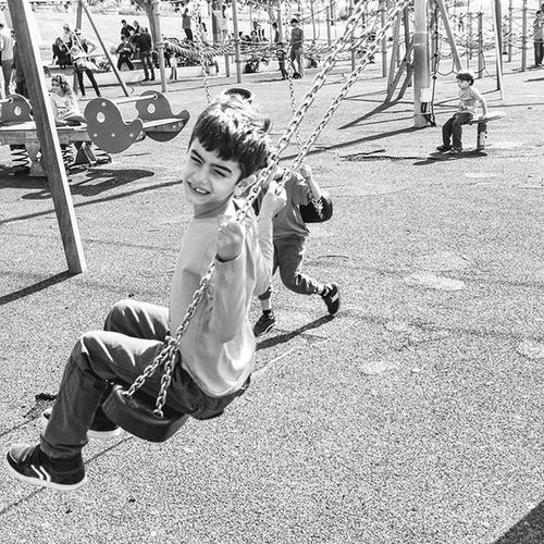 The old playground became to a new one Memories Blackandwhite Playground Smile Haifa Childhood Happy Swing Israel Israelinstagram Israel_ig Insta_Israel Instagram Instadaily Ig_captures Ig_europe Ig_kids Ig_worldclub Ig_exquisite Ig_today Ig_daily Ig_israel Ig_snapshots