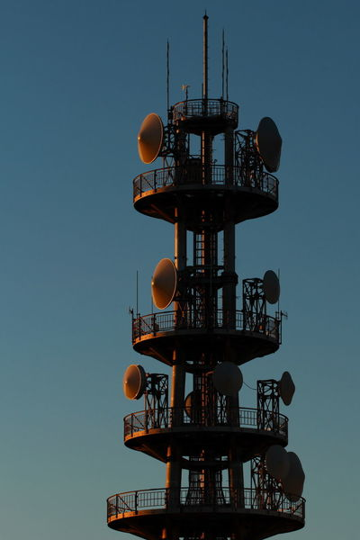 Radiotower Sunrise Sunshine 鉄塔♡Love Blue Sky Taking Photos The Purist (no Edit, No Filter)