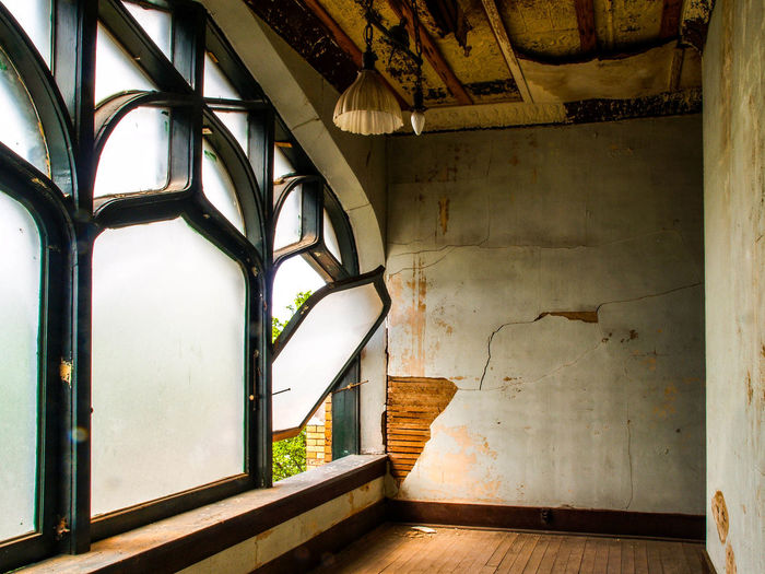 Interior Of Old Abandoned Room
