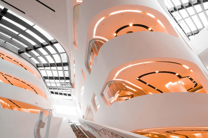 ZahaHadid Zaha Hadid Architects Vienna Architecture Archilover Modern Architecture Colors Architecture Photography Leicat Leicalens