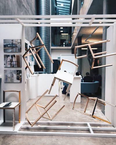 Art Artgallery Contemporary Csad Cardiffschoolofartanddesign Cardiff Deconstruction Chairs The Magic Mission