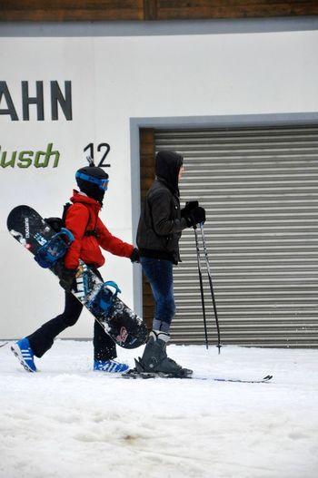 Snowboarding Skateboarding Enjoying Life Sport