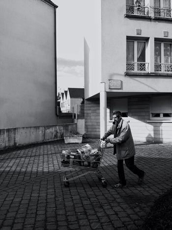 Streetphotography Blackandwhite The Press - Treasure The Press - Work