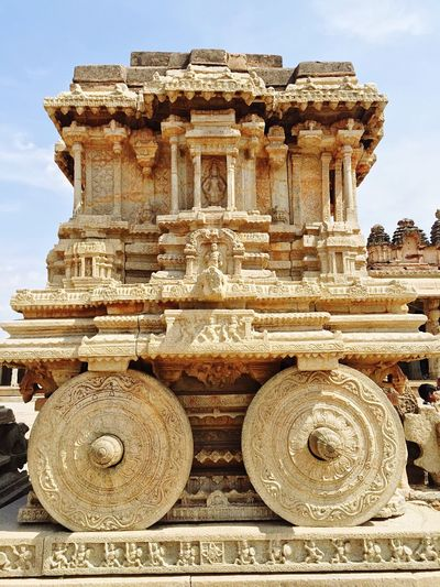 Stone Chariot Ancient Check This Out Old OldageIndia Once Upon A Time Hampi  India Middleofnowhere Breathtaking Hinduism