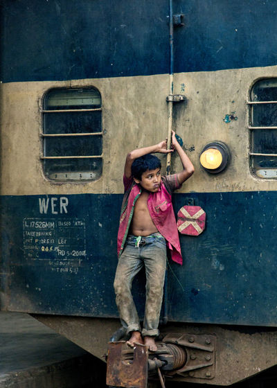 Joy ride Dhaka, Bangladesh Dirty Freeloader Kid Rail Transportation Relaxing The Photojournalist - 2017 EyeEm Awards Traveling