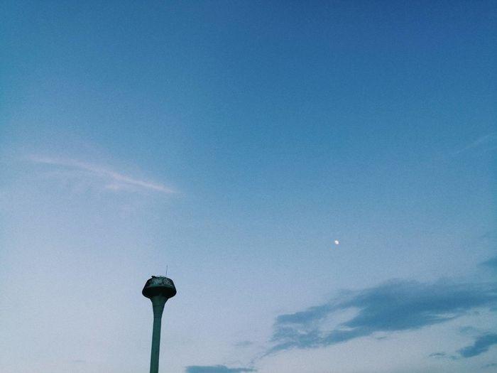 Sky Low Angle