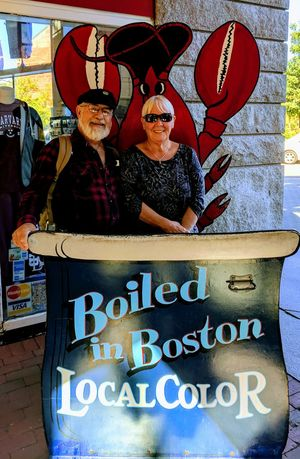Boiled! Portrait Adult Day Boston, Massachusetts Beauifulday Fanueil Hall Lookatthatface Lobster Pots Memorable Moment Connected By Travel