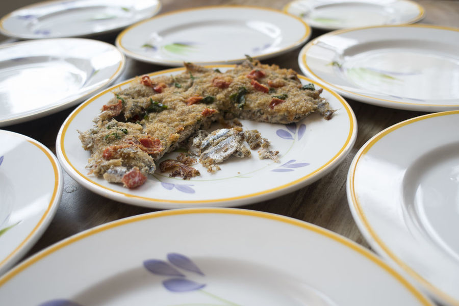 anchovy tart Anchovy Gratin Tart Anchovies Baked Baking Bluefish Cake Fish Gratineed Pie