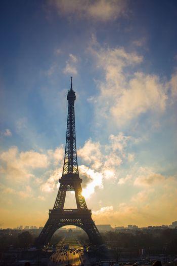 エッフェル塔 Paris