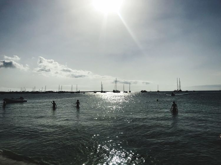 Il mare mi chiama... Goodday Formentera Island Saona Water Sky Sea Sunlight Nature Scenics - Nature Sun Beauty In Nature Horizon Waterfront Tranquil Scene Beach Reflection EyeEmNewHere