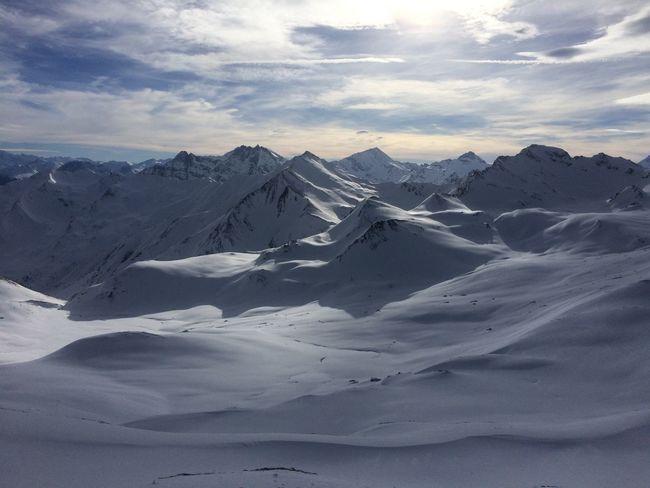 Summit Weareskiing Mountains Winter OnTopOfTheMountain