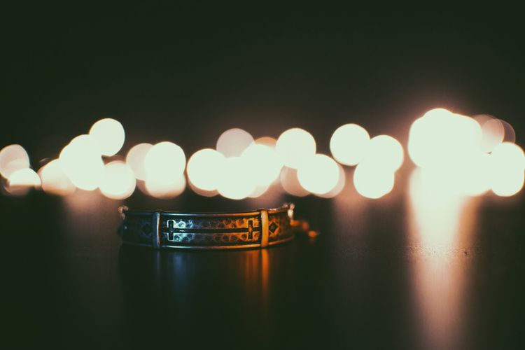Communication No People Close-up Business Finance And Industry Illuminated Indoors  WESC Bracelet Lights Photography Bokeh Photography Rear View Object Warm Selling Object Photography Accessory